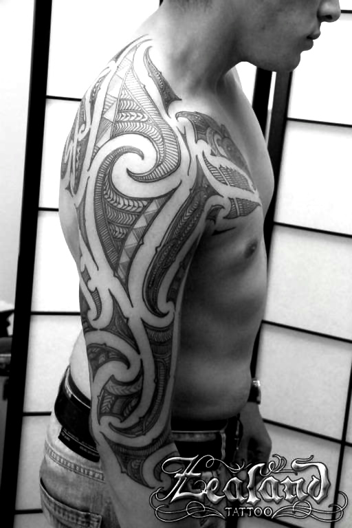 maori tattoo gallery zealand tattoo. Black Bedroom Furniture Sets. Home Design Ideas