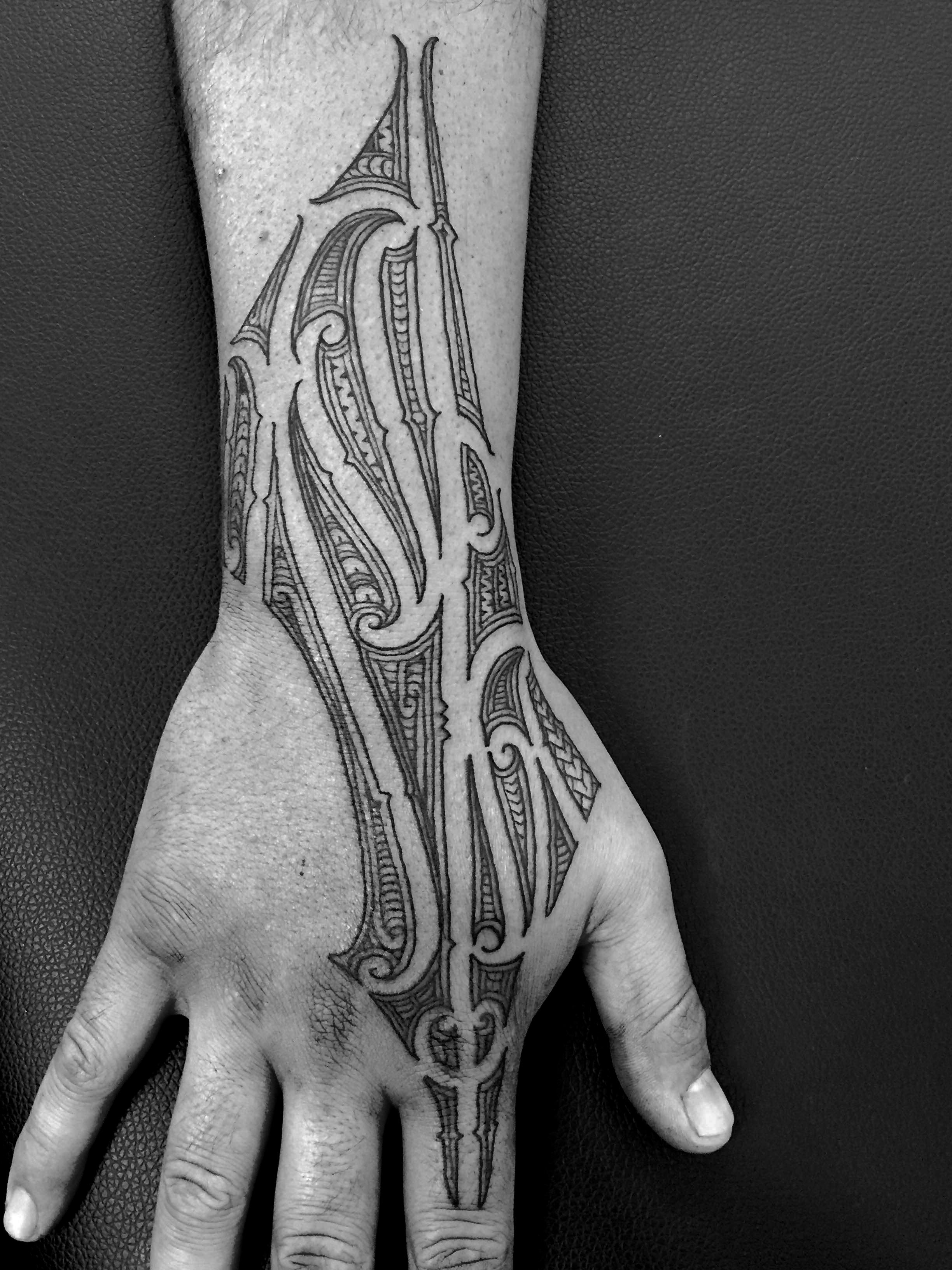 Nz Maori Hand Tattoo Zealand Tattoo