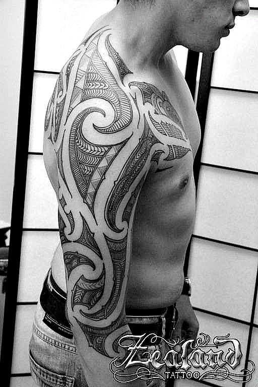 New Zealand Tattoo Maori: Christchurch Tattoo Studio