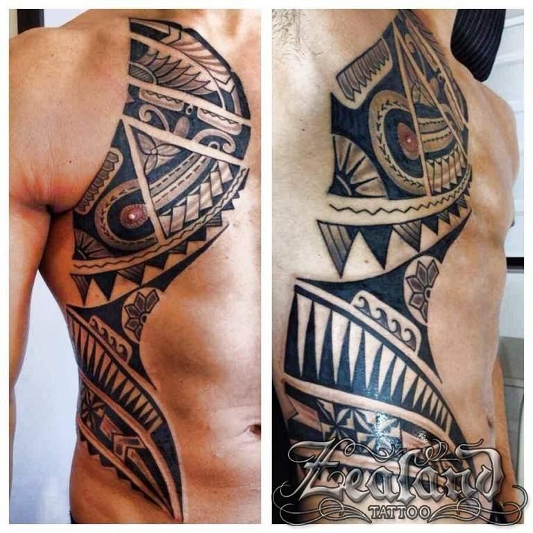 Polynesian Tattoo Gallery Zealand Tattoo
