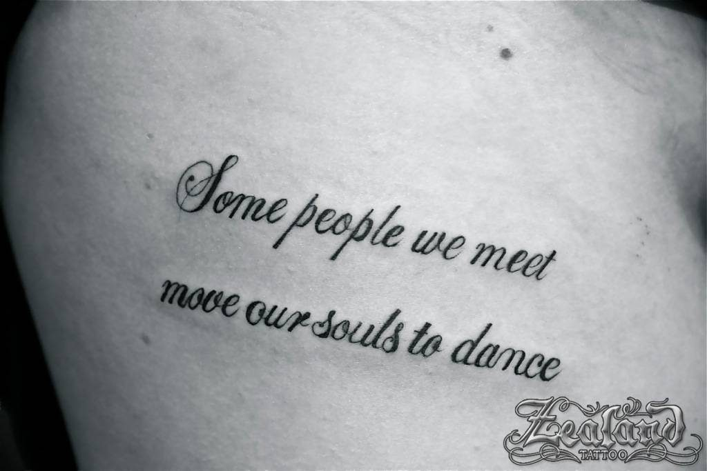 Lettering Tattoo Gallery