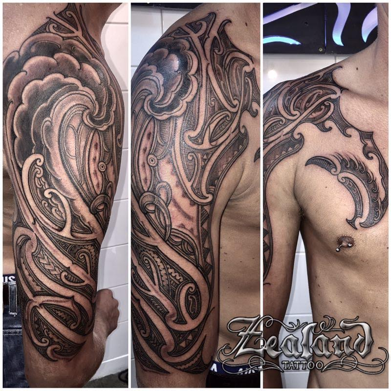 Maori Kiwi Tattoo: Maori / Japanese Tattoo Gallery
