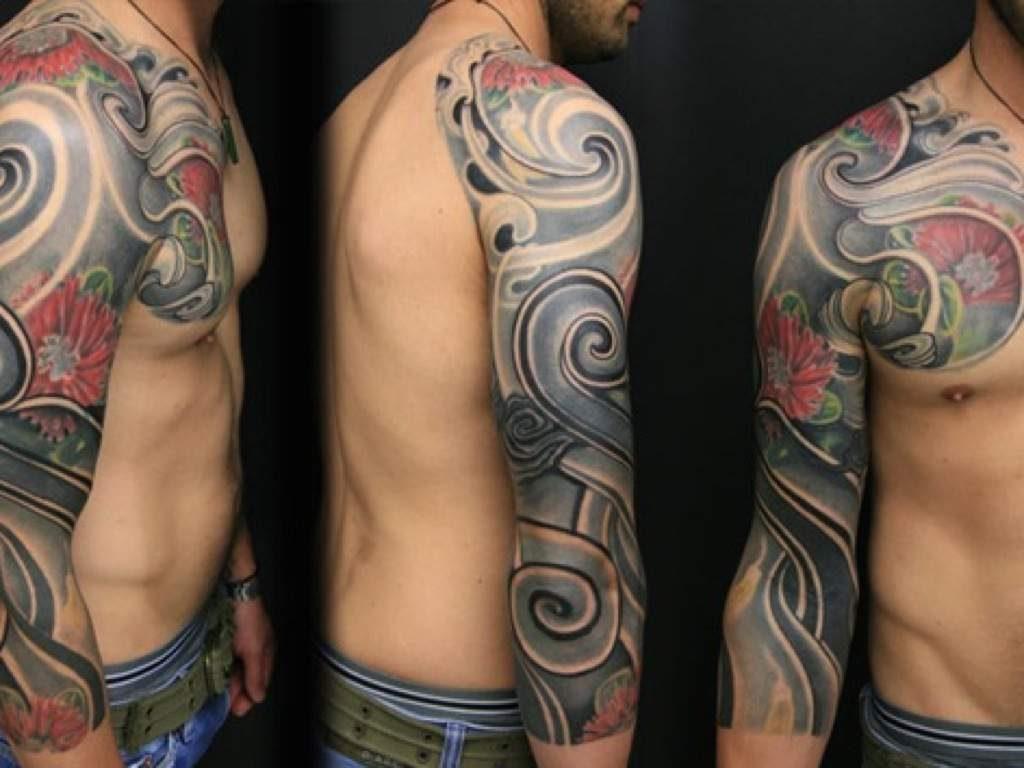 maori japanese tattoo gallery zealand tattoo. Black Bedroom Furniture Sets. Home Design Ideas