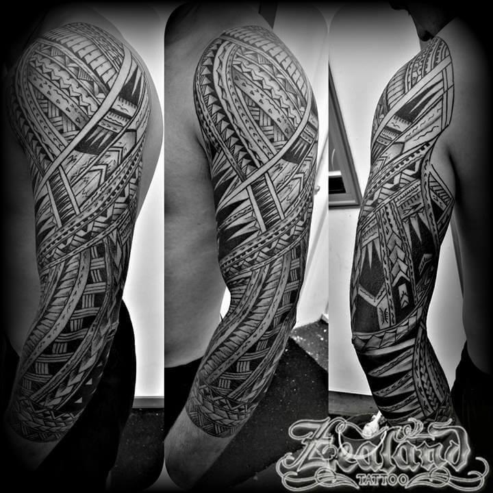 polynesian tattoo gallery