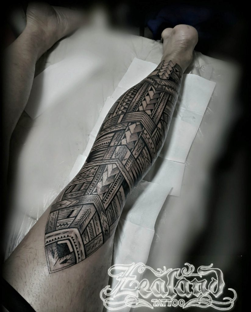 NZ's Best Maori Tattoo, Samoan Tattoo