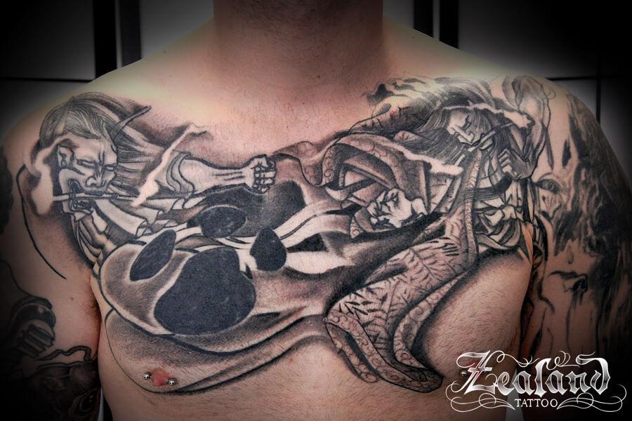 Japanese Tattoo Gallery Zealand Tattoo