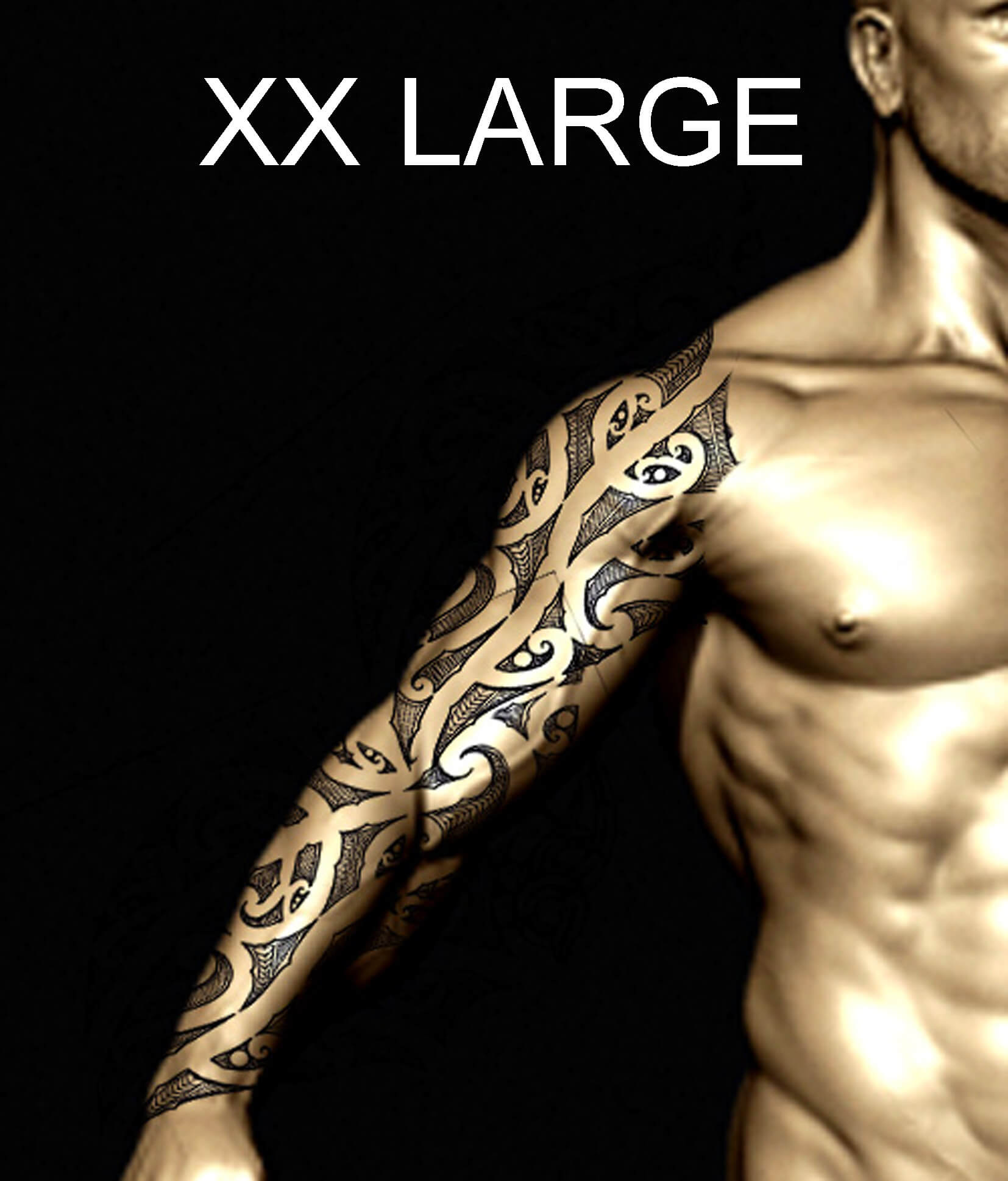 Male Maori Tribal Tattoos Full Body: Order Your Authentic & Personalised Maori Or Polynesian
